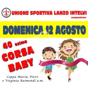 CORSA BABY- premiazioni