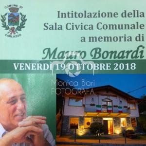 Intitolazione sala civica Carlazzo – Mauro Bonardi